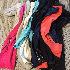 15 girls leggings, size 4, sold as is.